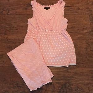 Cute set of women's pajamas